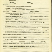 Marvin Boyd Bruce Livestock Loan Inspector Application<br />