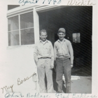 John and Fred Boklage<br />