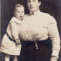 Unknown Woman and Child<br />