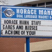 Horace Mann Sign