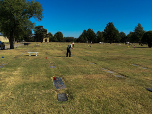 Photographing White Chapel Cemetery