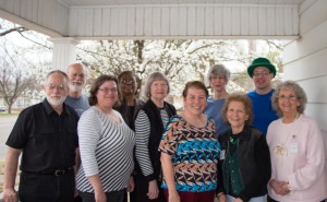 Rex Riley, Jim Scharnhorst, Julia Langel, Jozel Smith Eckels, Twila Brown, Bev Jackson, Ann Boll, Francene Sharp, Vincent Hancock, Lucille Williams